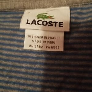 Lacoste 2 tops xl